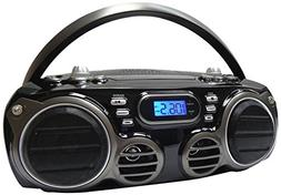 Sylvania SRCD682BT Bluetooth CD Portable Boombox w/ AM/FM Tu