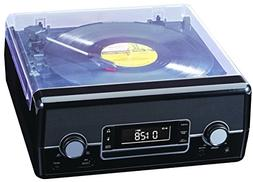SYLVANIA SRCD875-BLACK CD Radio Turntable with Direct Encodi