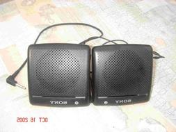 Sony SRS-7 Portable Mini Speakers for Computer/IPOD/MP3 Play