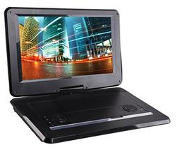 Sylvania 15.6-Inch Swivel Screen Portable DVD Player with US