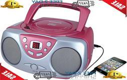 Sylvania SRCD243 Portable CD Player with AM/FM Radio, Boombo