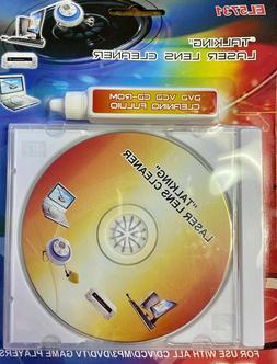 """""""Talking"""" Laser CD Lens Cleaner: EL5731 all CD/VCD/MP3/DVD/G"""