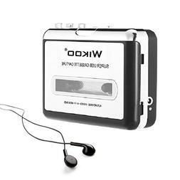 Wikoo Tape to MP3 CD converter, Convert Cassette to MP3 via