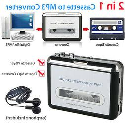 Tape to PC USB Cassette MP3 CD File Converter Capture Digita