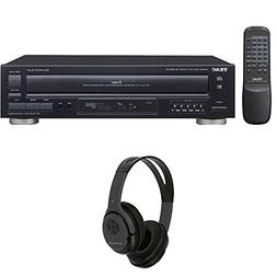 Teac 5-Disc Carousel CD Player with Remote  w/ Xtreme Over T