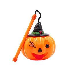856store The Latest Halloween Emoji Pumpkin Lantern LED Flas