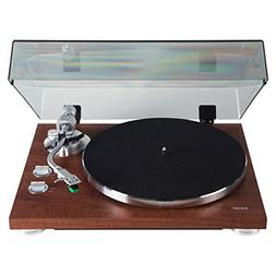 Teac TN-350-WA Walnut 2-Speed Belt Drive Analog Turntable w/
