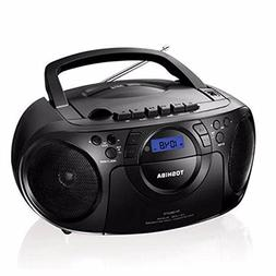 Toshiba Portable Boombox CD/USB Radio Cassette Tape Recorder