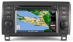 2007-13 Toyota Tundra In-Dash GPS Navigation DVD Player Blue