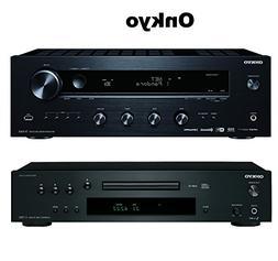 Onkyo TX-8160 Network Stereo Receiver + Onkyo C-7030 Compact
