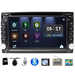 Eunavi 2 Din in Dash Universal Car Stereo with Navigation, 6
