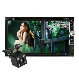 "KKmoon Universal HD 7.0"" Touch Screen 2 Din In-Dash Car Ster"
