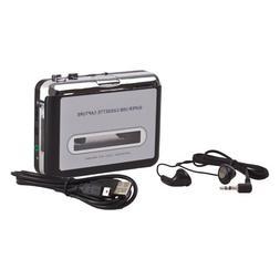 Flexzion USB Cassette To MP3 Converter Portable Super Tape T
