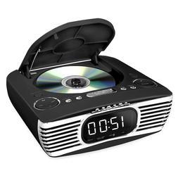 Innovative Technology V50-250-BLK Bluetooth Alarm Clock w/CD