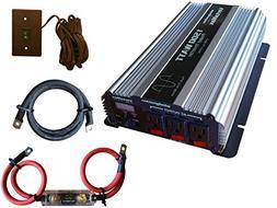 VertaMax Pure SINE Wave 1500 Watt  12V Power Inverter DC to