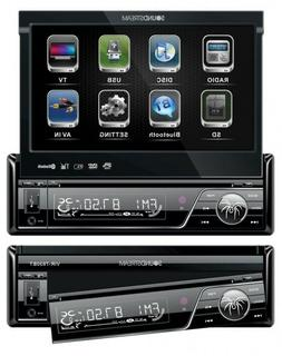New Soundstream VIR-7830B 1 DIN DVD/CD/MP3 Player Flip-Out U