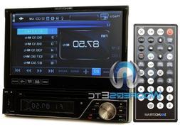 Soundstream VIR-7830B Single-Din Bluetooth Car Stereo DVD Pl