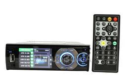 """Soundstream Vr-345 3.4"""" LCD Screen Single DIN Dvd/cd CAR Rec"""