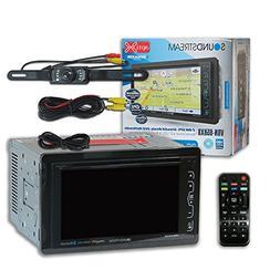 "Soundstream VRN-65HXB Double DIN 2DIN 6.2"" Car GPS Navigatio"