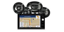 Jensen VX6628 Multimedia Receiver with Built-In Navigation a