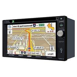 """Jensen VX7022 6.2"""" Navigation DVD Receiver w/ Bluetooth"""