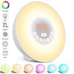 Alarm Clock Wake Up Light for Kids & Heavy Sleepers for Bedr