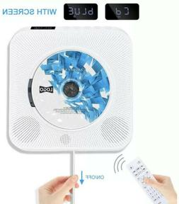 Wall Mounted CD Player FM Radio bluetooth MP3 Music Player w