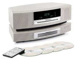 Wave Music System III with Multi-CD Changer - Platinum White