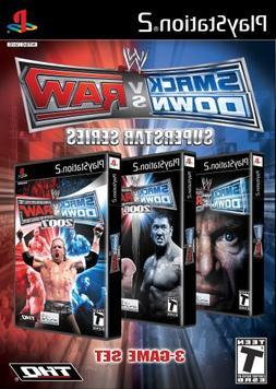 WWE Smackdown vs Raw Superstar Series - PlayStation 2