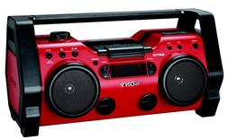 Sony ZSH10CP Portable Heavy Duty CD Radio Boombox Speaker Sy
